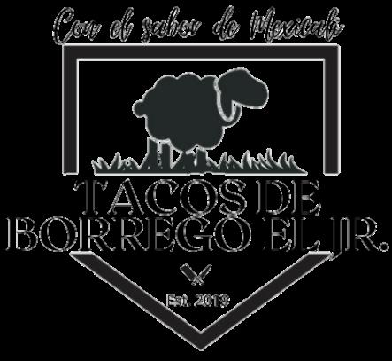 logo de tacos de borrego el jr