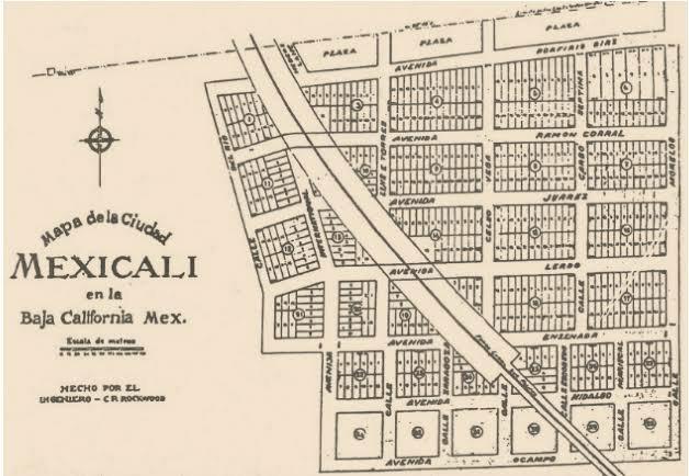 mapa de mexicali 1903